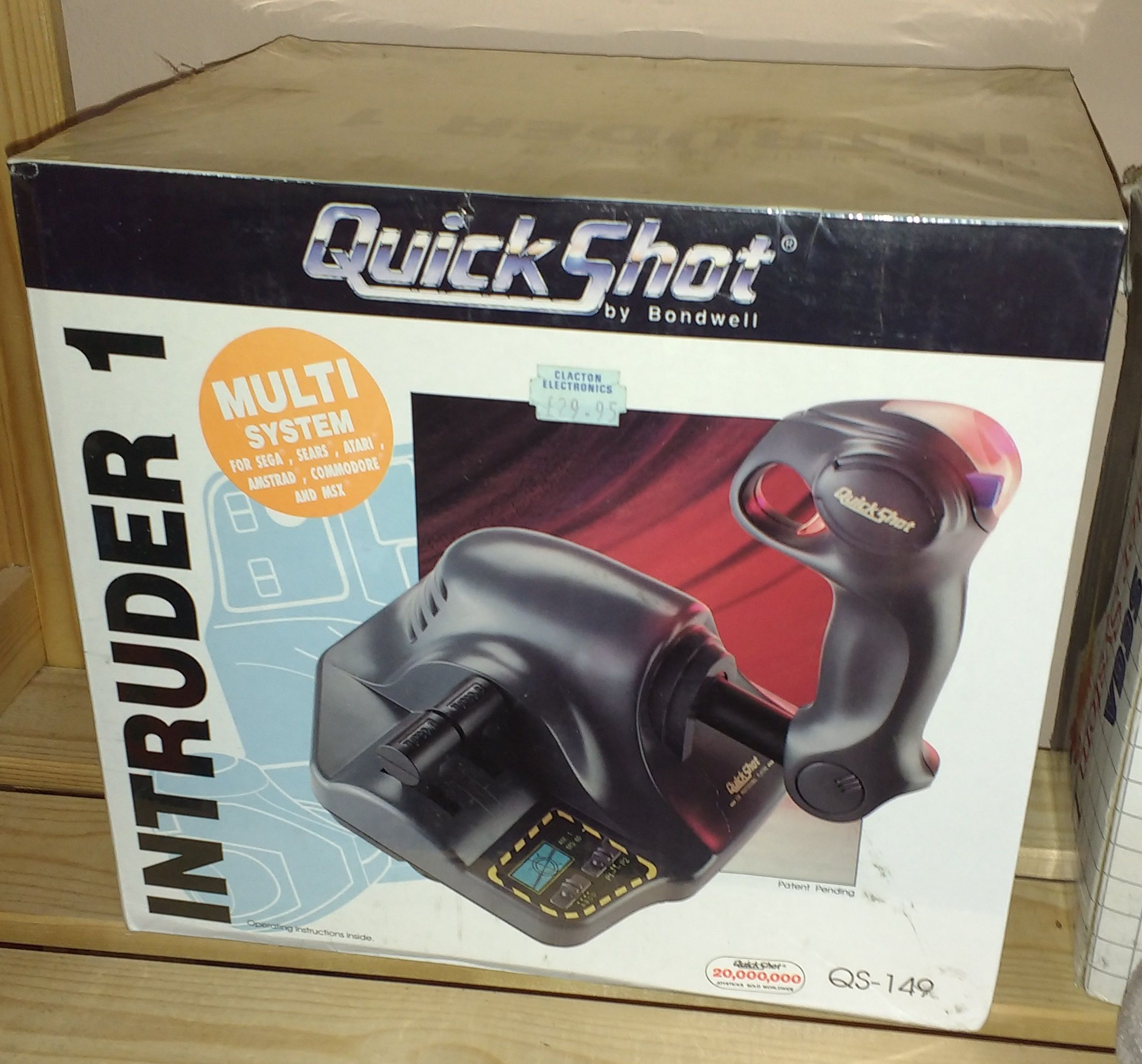 The QuickShot Intruder 1 Joystick